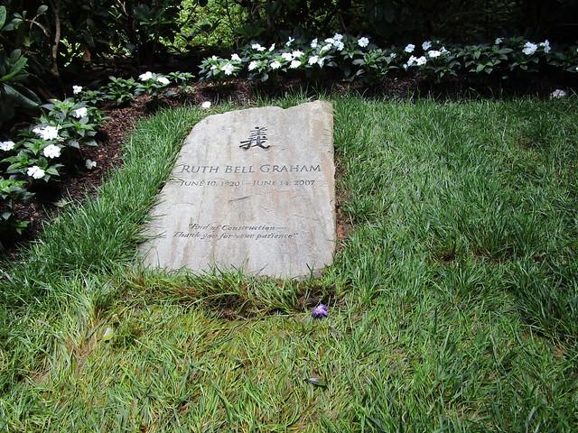 Ruth Bell Graham grave