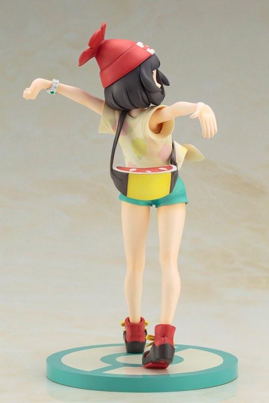 阿羅拉!ARTFX J《精靈寶可夢 太陽.月亮》女主角 美月(Selene)with 木木梟(ミヅキ with モクロー)1/8比例模型