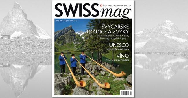SWISSmag 08 - jaro/léto 2013
