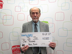 Jim Igel - $1,000 - Regal Riches - Boise - Albertsons