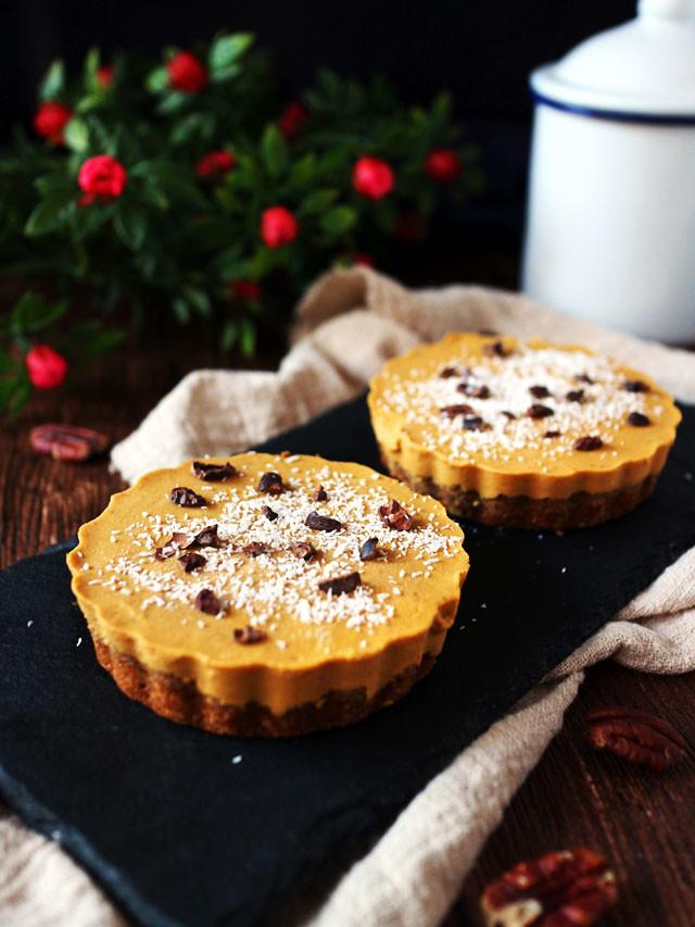 迷你椰香南瓜派 (全素,無麵粉,無堅果) mini-coconut-pumpkin-pie (3)