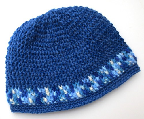 Front Post Crocheted Hat