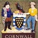 The Cornish Coat of Arms on the Tamar Road Bridge, 23rd July 1992