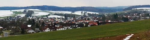 Rosenthal (Burgwald): winterliches Panorama