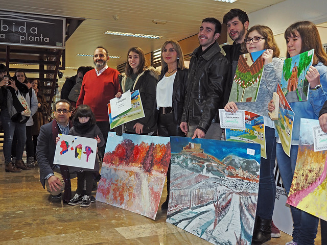 Premios II concurso de pintura Galerías Isilla.