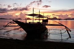 Sunset, Bacuit Bay, El Nido, Palawan, Philippines