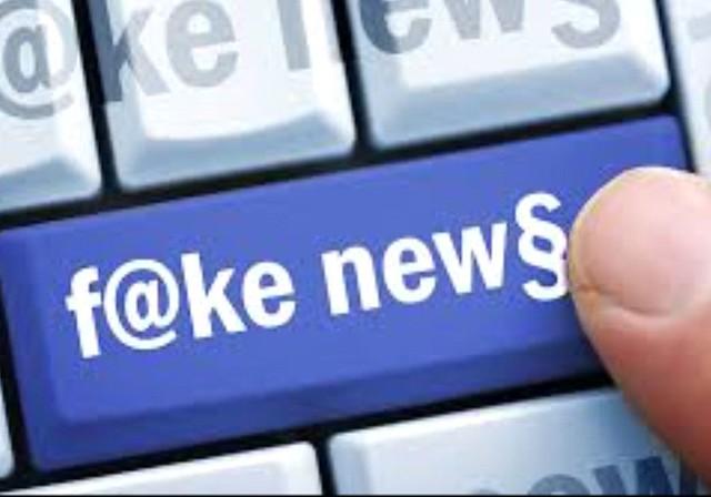 fake news on line