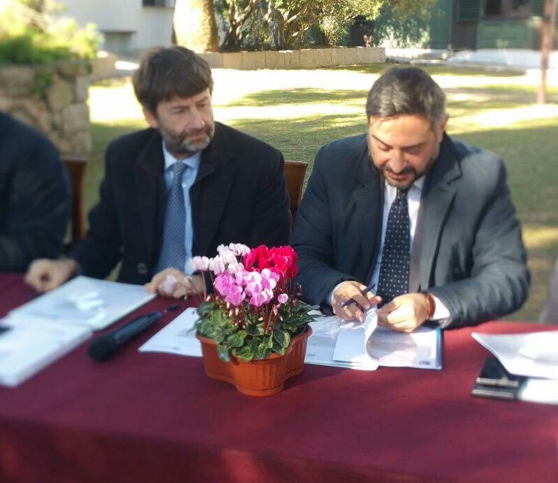 Corrado Matera e Dario Franceschini