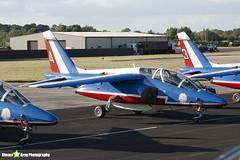 E41 4 F-TERA - E41 - Patrouille de France - French Air Force - Dassault-Dornier Alpha Jet E - RIAT 2010 Fairford - Steven Gray - IMG_7364