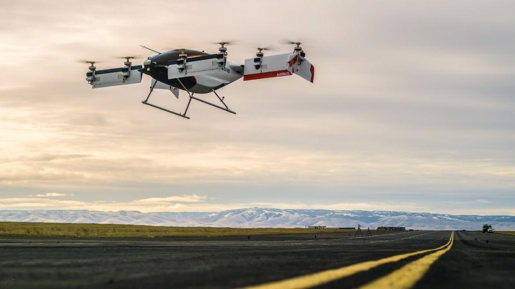 Le drone taxi d'Airbus prend son envole pour la première fois