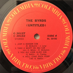 THE BYRDS:(UNTITLED)(LABEL SIDE-D)