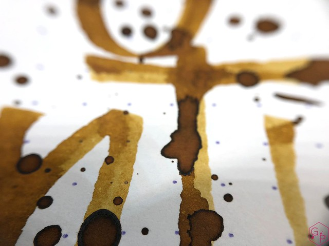 Ink Shot Review @RobertOsterInk Gold Antiqua 11