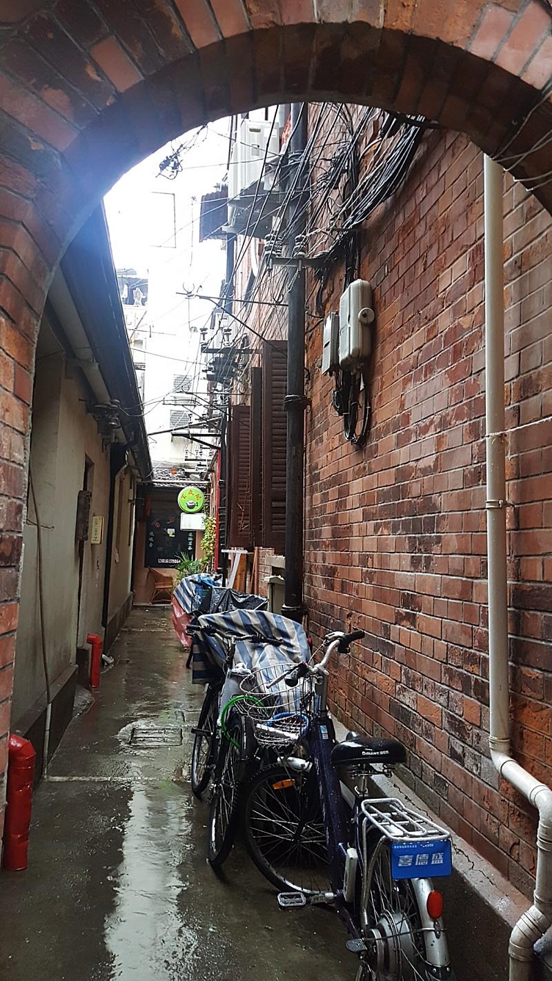 Tianzifang alleyways