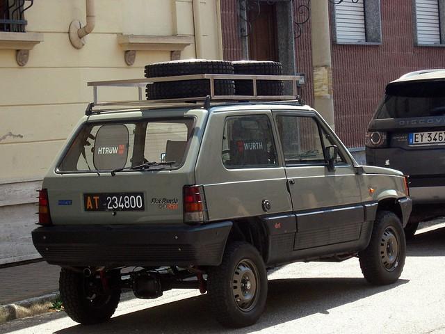 Fiat Panda 4x4 1984