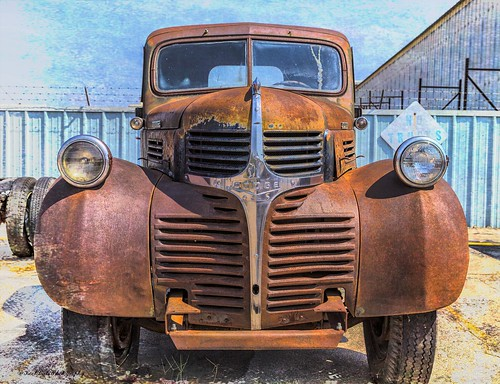 Rusty Old Dodge Truck