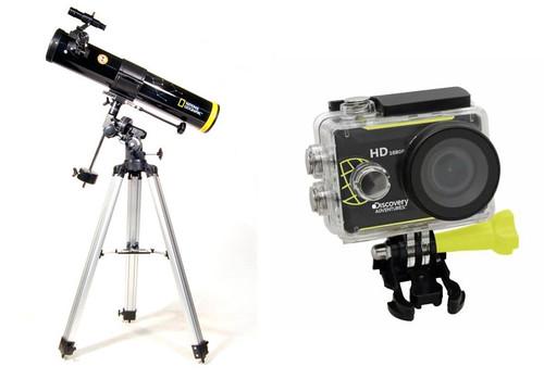 Bresser Telescoop en Action Camera