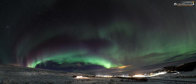 Aurora above Laugar
