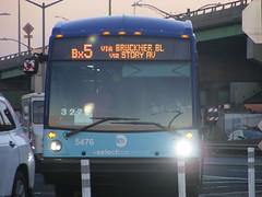 2017 MTA Novabus LFSA 5476