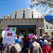 A rally for sensible gun laws held in Vero Beach.