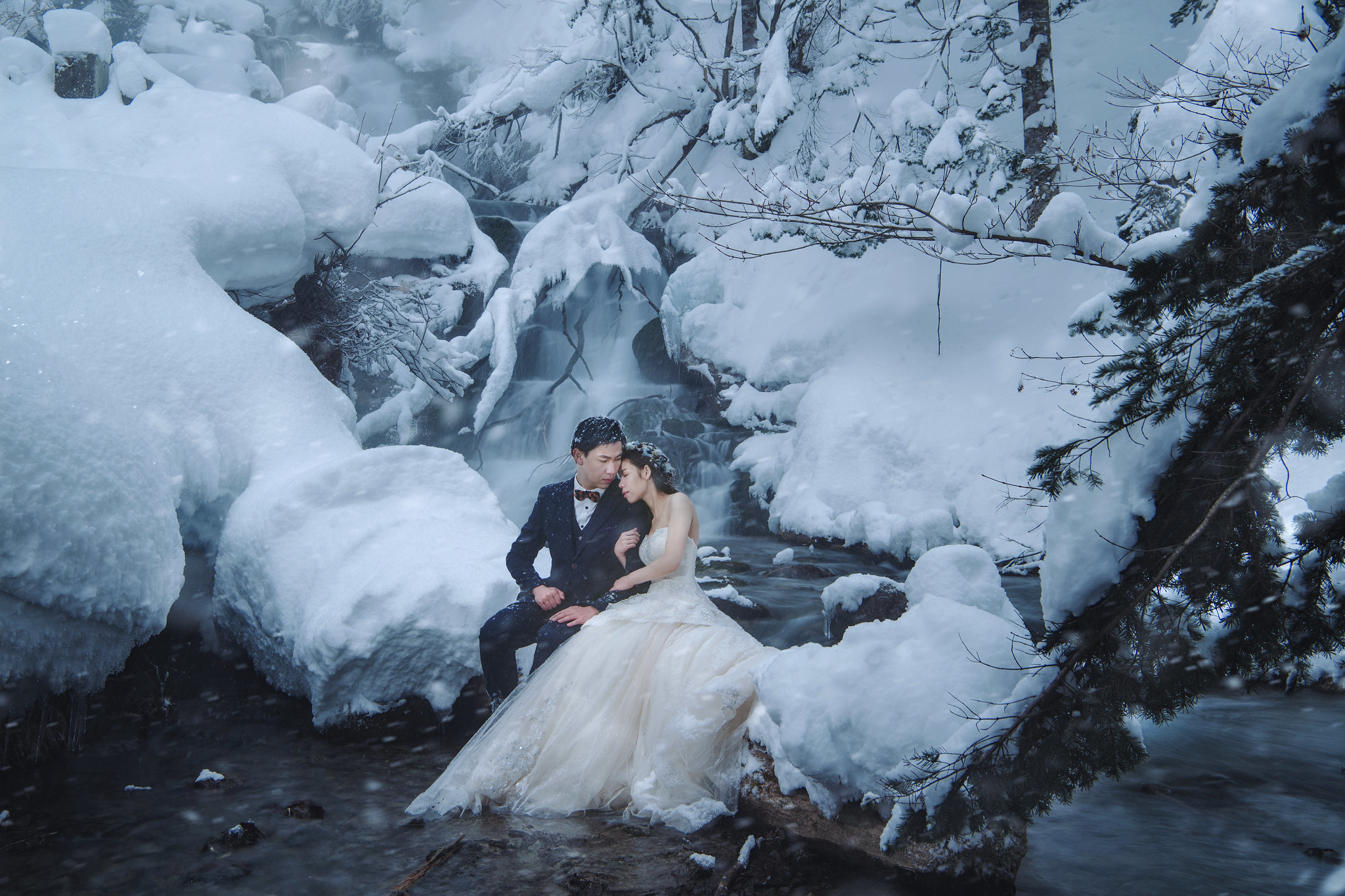北海道婚紗, 海外婚紗, Donfer Photography, EASTERN WEDDING, 東法, 美瑛婚紗, 雪景婚紗, 藝術婚紗
