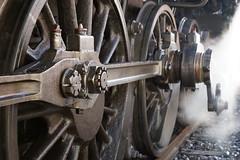 🚂 Train touristique CFTVA locomotive à vapeur  150 Ty2 6690 - Arques ( France )