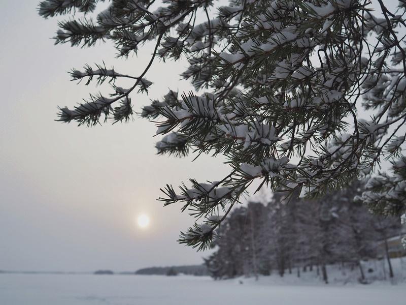 suomi luonto talvi