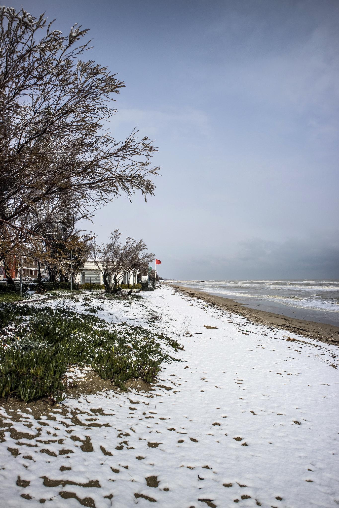 Pineto, neve 2018