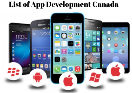 list of application development companies Canada