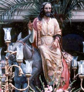 Hermandad del Santísimo Cristo de la Bondad en su Entrada en Jerusalén ( La Borriquita).