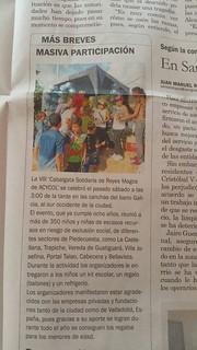 VIII Cabalgata Solidaria Reyes Magos Prensa
