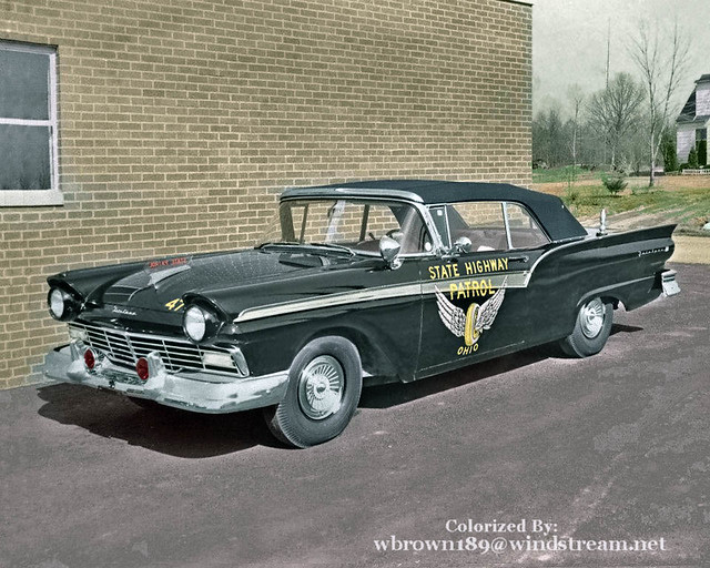 Ohio State Highway Patrol 1957 Ford Fairlane