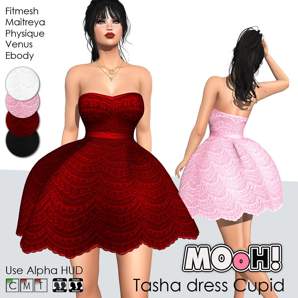 Tasha dress Cupid - TeleportHub.com Live!