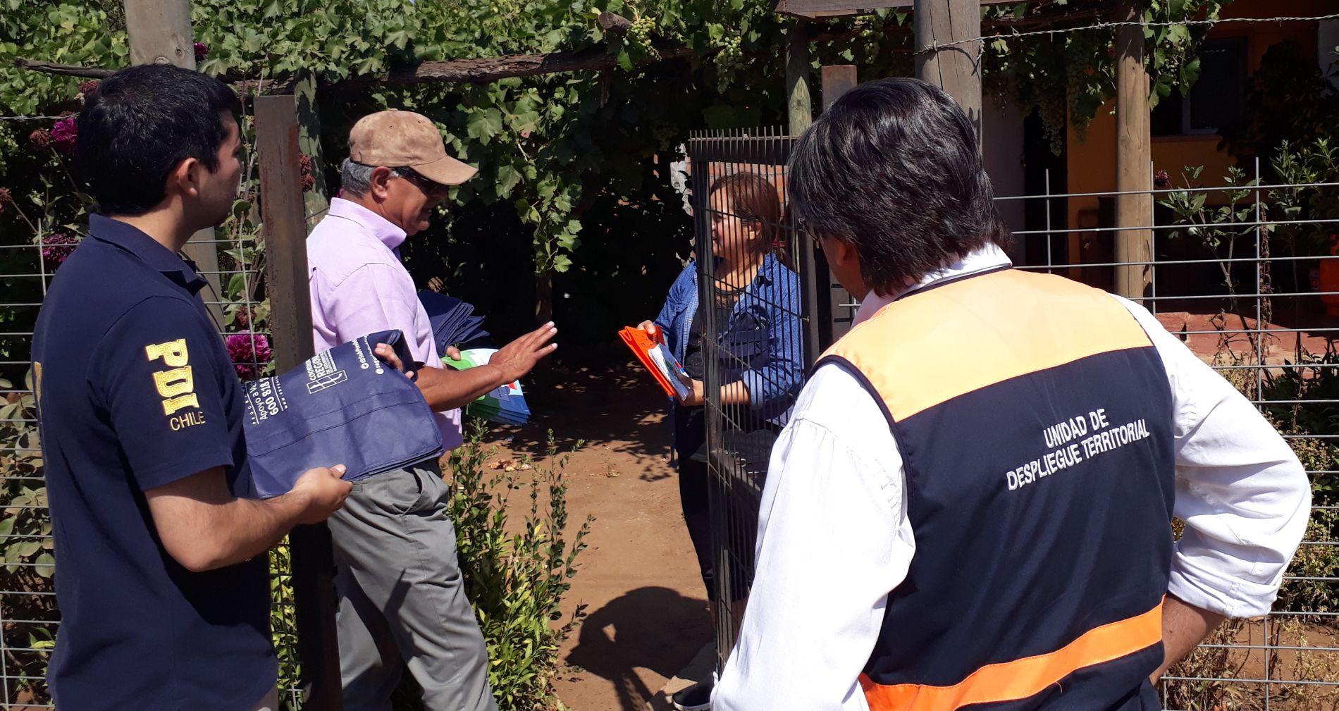 PARRAL; Nueva jornada de difusión para prevenir incendios forestales en Catillo