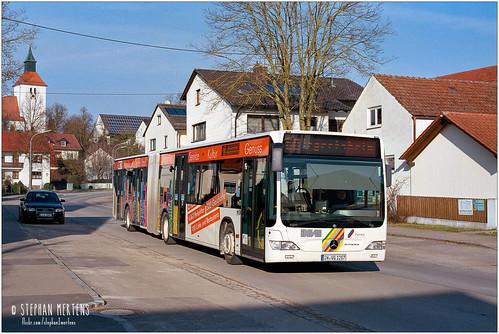 Stadtbus Ingolstadt Evobus O 530 G Nr. 1207