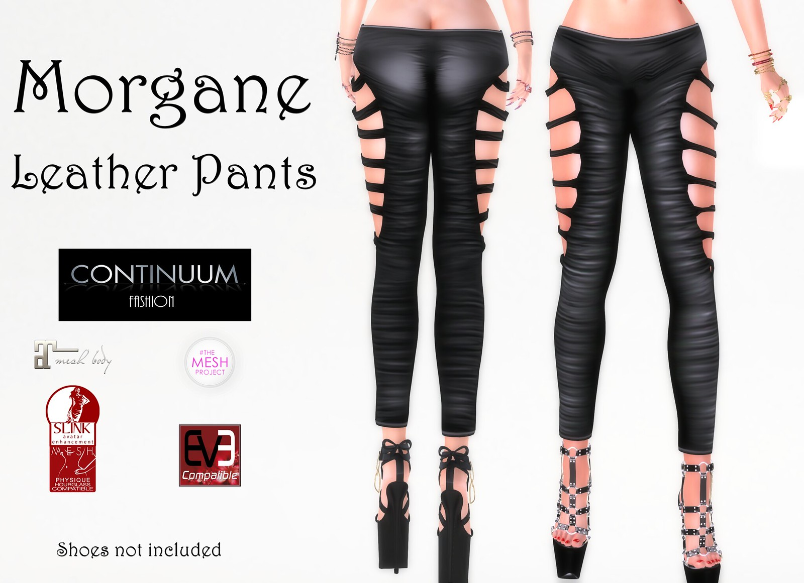 New! Continuum Fashion Morgane Pants
