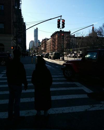 South down Columbus at West 77th #newyorkcity #newyork #manhattan #amnh #uppereastside #west77 #columbusave #columbusavenue #latergram