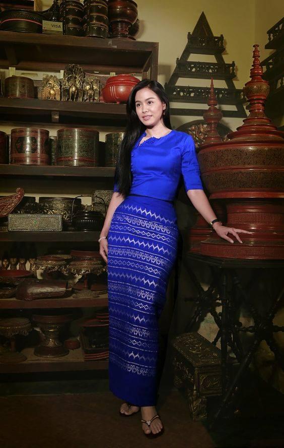 My Favourite Myanmar Traditional Dresses Wedding