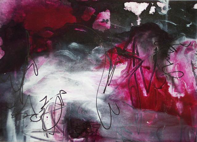 magenta abstract 14