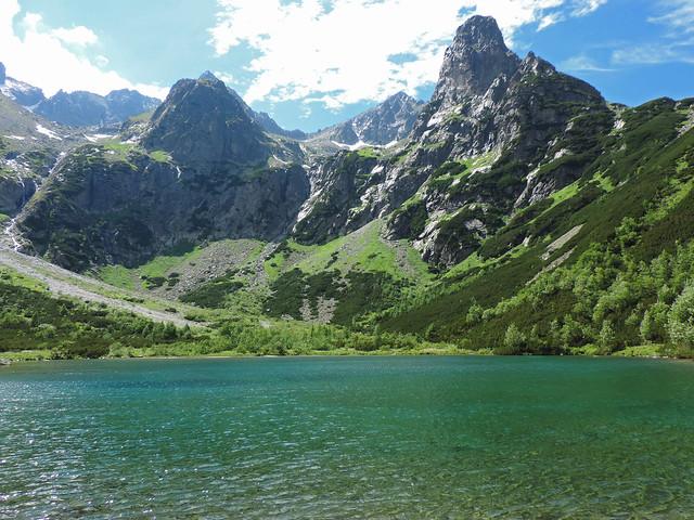 Zelené pleso, Belianske Tatras, Slovakia