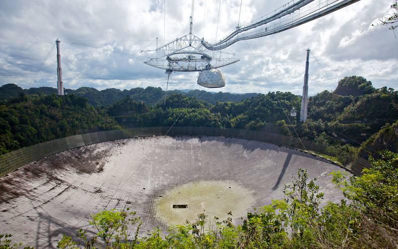 Le Radio-télescope emblématique d'Arecibo sauvé par un consortium universitaire