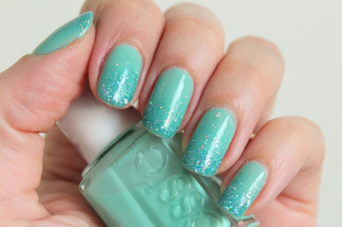 34 Best Examples Of Color Teal Nail Art Designs Nails C