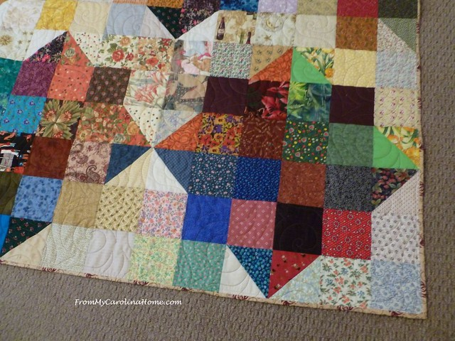 Thomas Fire Quilt at From My Carolina Home
