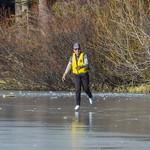 Ice skater on Lake Dulzura at Serene Lakes-03 12-10-17