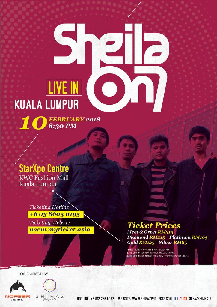 Konsert Sheila On 7- Live In Kuala Lumpur 2018