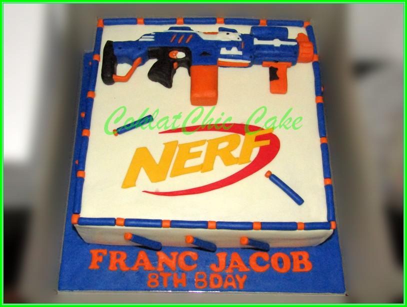 Cake Nerf FRANC JACOB 24cm