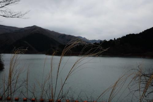 Lake Okutama Ogouchi dam reservoir 07