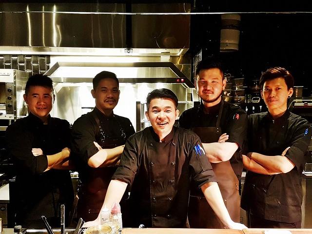 Team Of Cast Iron Restaurant Chefs