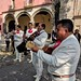 Mariachi wedding at the cathedral, Tlaxcala