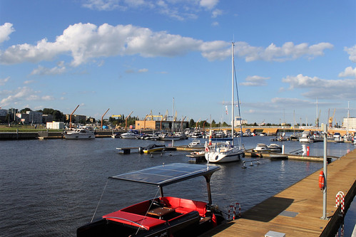 new yacht harbour in Szczecin