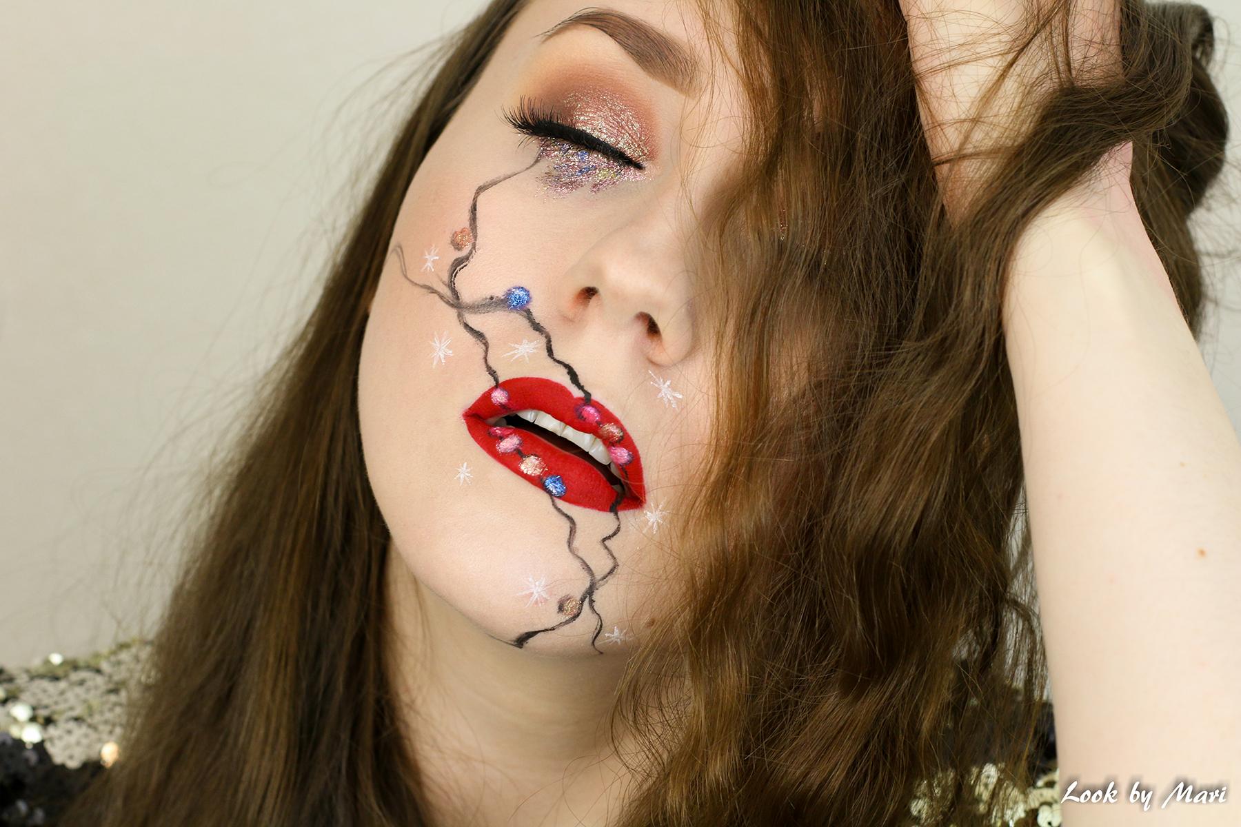 2 lip art red artistic makeup ideas colorful makeup inspiration blog